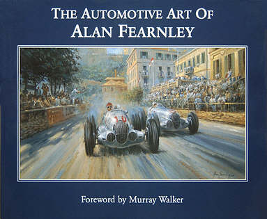 The Automotive Art of Alan Fearnley, Automobile Art Book