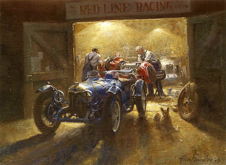Automobile Art Fearnley Alan The Wee Small Hours