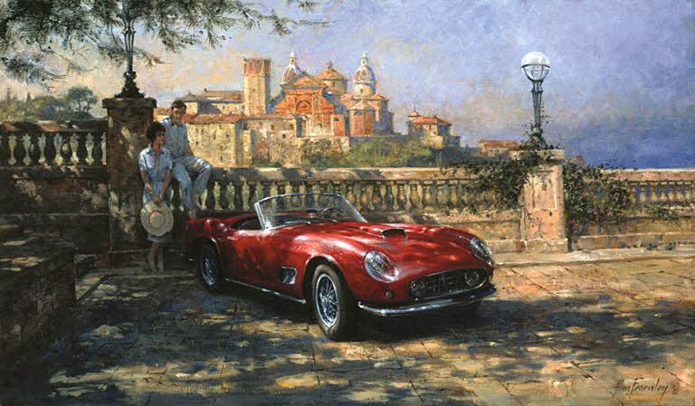 Automobile Art : Fearnley, Alan : Vista Bella