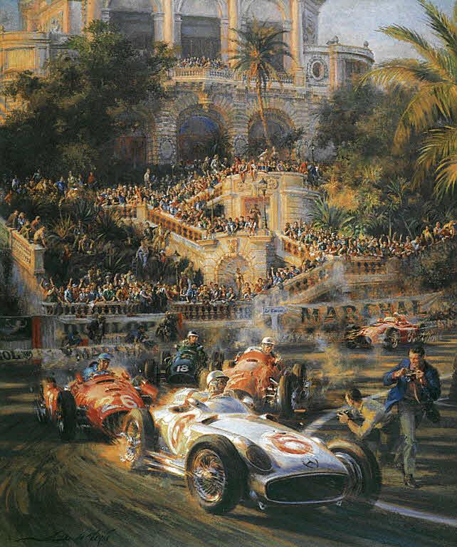 Automobile Art De La Maria Alfredo Lucky For Some
