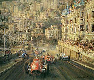 Mercedes Benz Of Warwick >> Automobilkunst : De la Maria, Alfredo : Monaco Magic