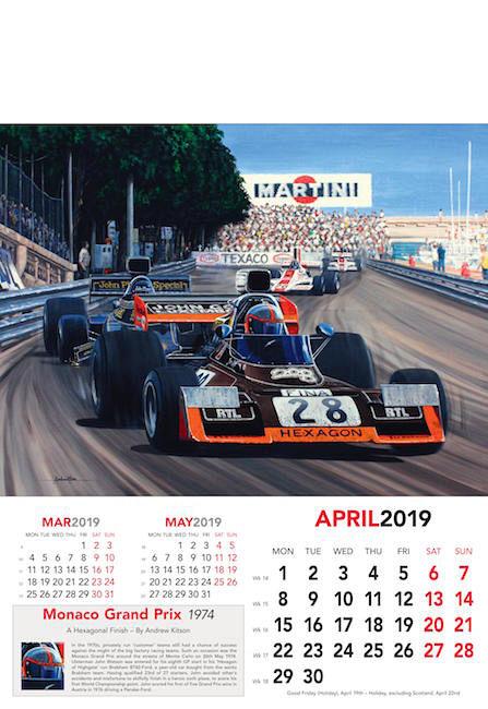 formel eins kalender 2019