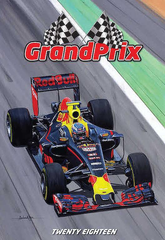 Automobile Art : Kitson, Andrew : Formula-1 Art Calendar ...