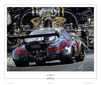 Automobile Art Bes Hessel The Fast Emotions Martini
