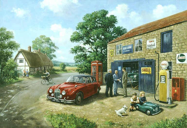 Automobile Art Walsh Kevin Best Endeavour