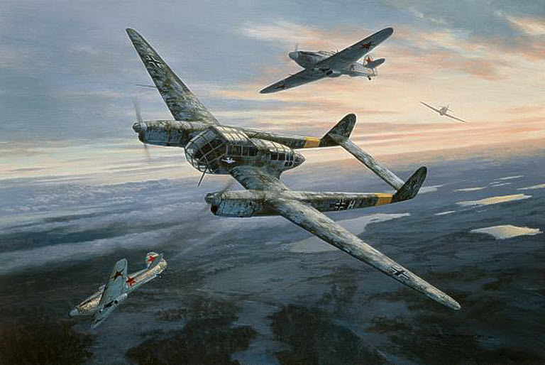 Image result for paintings focke wulf 189