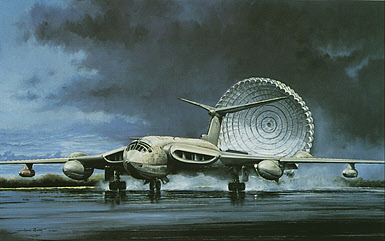 Victor Farewell Handley Page Victor RAF aviation art by Michael Rondot