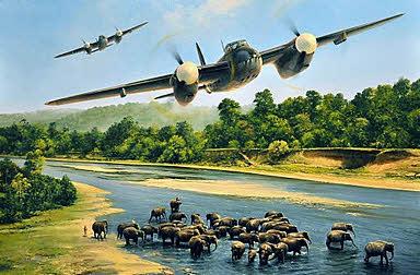 Aviation Art Taylor Richard First Strike