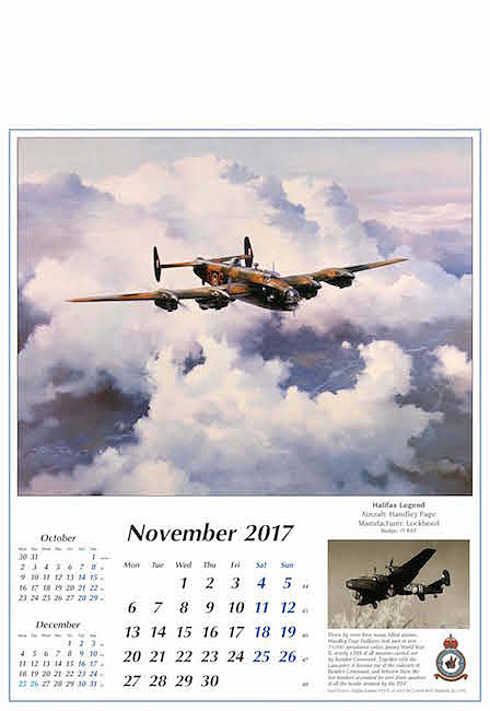 Aviation Art Calendar 2017