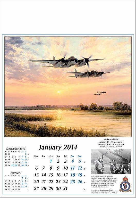 Art Reach Calendar : Aviation art taylor robert reach for the sky aircraft