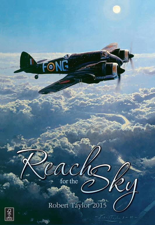 Art Reach Calendar : Aviation art taylor robert reach for the sky