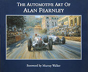 The Automotive Art of Alan Fearnley, Automobilkunst Buch