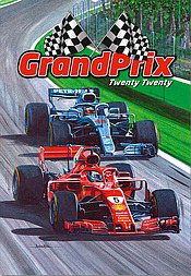 Formula-1 Wall Calendar 2020 Grand Prix Motorsport Art