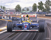 Formel 1 Wandkalender 2021 - Grand Prix von Mexiko 1992 - Nigel Mansell im Williams-Renault FW14B - November