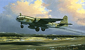 Luftwaffe Arado 234-B2, aviation art print by Barry Price