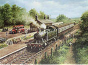 Country Connection - Railway Art by Don Breckon