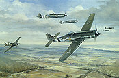 Focke-Wulf Fw 190 D-9 JG26, aviation art print by Friedl Wuelfing