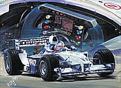Williams-BMW, F1 motorsport art print by Hessel Bes