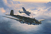 RLM Focke Wulf FW-200 Condor Aviation Art by Mark Postlethwaite