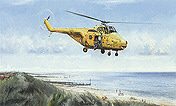 Whirlwind, Helicopter aviation art print by Michael Rondot