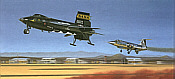 First Re-entry, X-15 aviation art print by Mike Machat