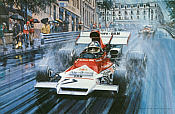 BRM - The Final Grand Prix Victory, F1 motorsport art print by Nicholas Watts