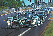 Bentley Invincible Le Mans 2003, motorsport art print by Nicholas Watts