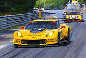 Chevrolet Corvette C7.R at Le Mans 2015, Motorsport Art by Nicholas Watts