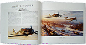 Air Combat Legends Nicolas Trudgian Aviation Art book inside3