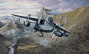 Jaguar Patrol, SEPECAT Jaguar RAF aviation art print by Philip E West
