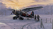 Westland Lysander aviation art print by Philip E West
