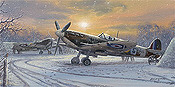 Pride of Britain, Spitfire aviation art print by Philip E West