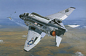 Showtime 100, F4 Phantom Vietnam aviation art print by Philip E West