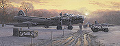 Those Golden Moments, B-17G aviation art print by Philip E West