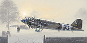Together We Stand, Douglas DC-3 Dakota aviation art print by Philip E West