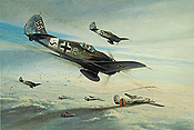 Ramraiders, Focke-Wulf Fw 190A-8 aviation art print by Richard Taylor