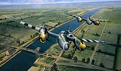 Tactical Support, P-38 Lightning aviation art print by Richard Taylor