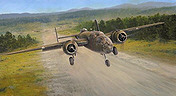 The Royce Raid, B-25 Mitchell aviation art print by Richard Taylor