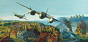 Shock at Shadow Valley, RCAF Mosquito aviation art print by Robert Bailey