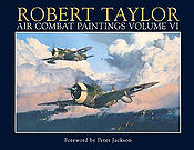 Air-Combat-Paintings-Vol-VI, Aviation Art Book by Robert Taylor
