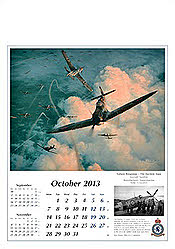 Aircraft Calendar 2013 October, by Robert Taylor