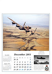 Aviation Art Calendar 2013 December
