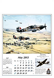 Aviation Art Calendar 2013 May