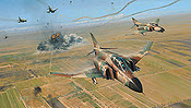 Double Strike - Israeli Air Force F-4 Phantoms - Aviation Art by Robert Taylor