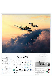 Flugzeug Kalender 2019 Reach for the Sky Me 262 Robert Taylor April