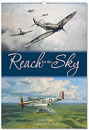 Aircraft Calendar 2021 Reach for the-Sky Aviation Art by Robert Taylor