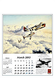 Reach for the Sky Calendar 2013 - March