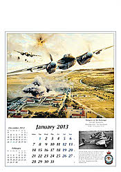 Flugzeug Kalender 2013 - Reach for the Sky Januar von Robert Taylor