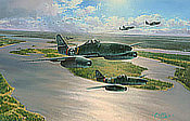 Stormbirds Rising - Messerschmitt Me 262 Aviation Art by Robert Taylor