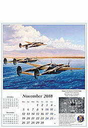 Warbird Flugzeugkalender 2018 November Reach for the Sky von Robert Taylor